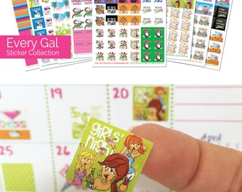 "Event Stickers for Calendars...Wow! 432 Planner Stickers to stylize any planner or calendar. Size: 3/4"" x 3/4"" Flat rate ship [Item #2003]"