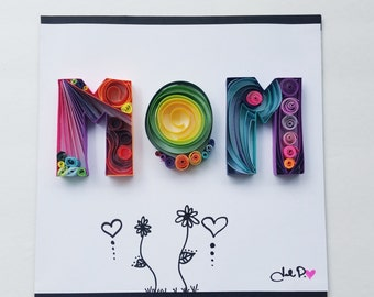 Quilled Art: Custom Name