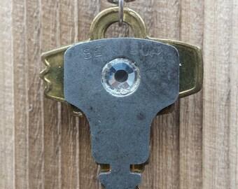 Vintage Keys Upcycled Necklace