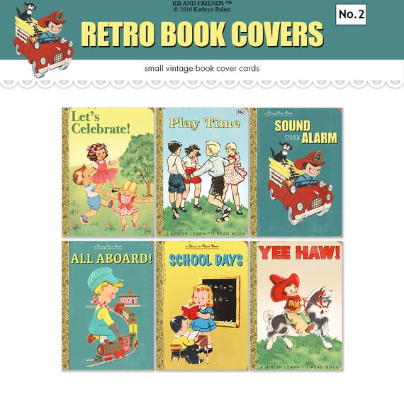Children S Book Cover Printables : Printable book covers vintage children s