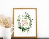 Scripture Print: Feed Your Soul