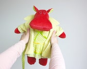 Hippopotamus fabric doll ...