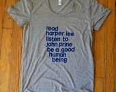 john prine shirt / harper...