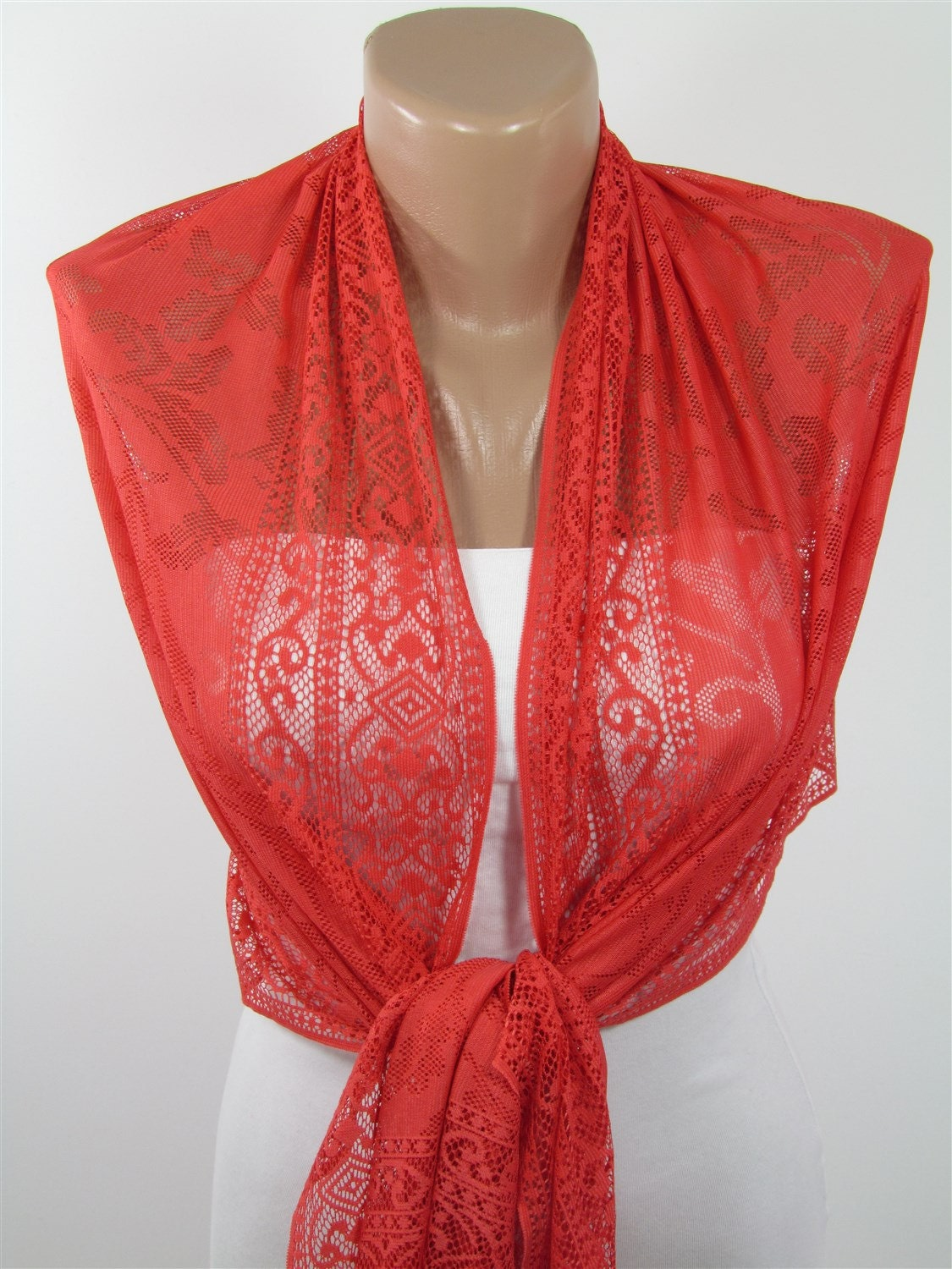 coral wedding scarf shawl bridesmaids gifts shawl by scarfclub