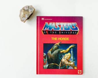 Vintage Masters Of The Universe The Horde Book