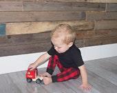 Red Plaid Leggings- Baby Boy Lumberjack Legging- Buffalo Plaid Pants- Baby Boy Pant- Toddler Boy Pant- Baby Boy Legging- Lumberjack Birthday