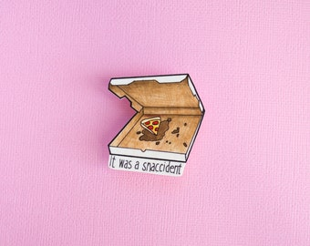 Snaccident Pin