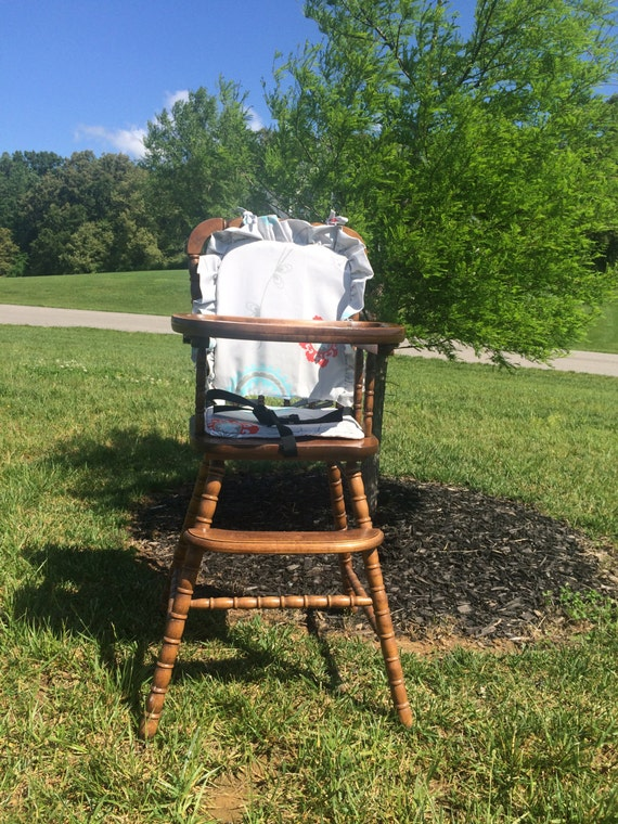 items similar to wooden highchair cover high chair cover