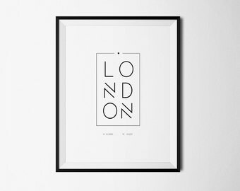 london art, london, london poster, london skyline, london wall art, wall art, Wall decor, Printable London, Travel Poster, London print