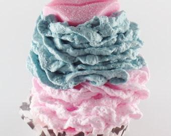 Bath Bomb Fizzie Cupcakes