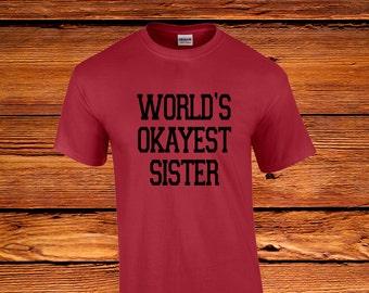 World's Okayest Sister - Family