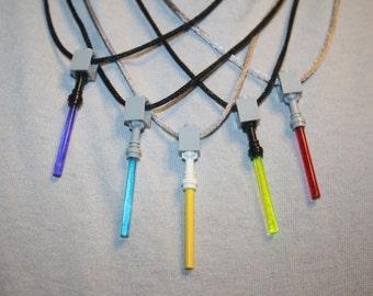 Sale! Light Saber / Light Sword Necklace - Assorted Choice