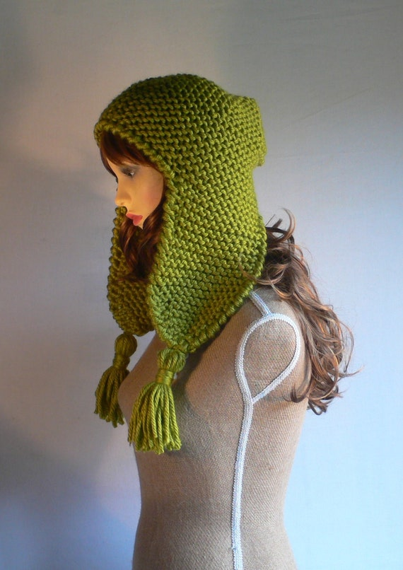womens knit hats trapper hat aviator hat by
