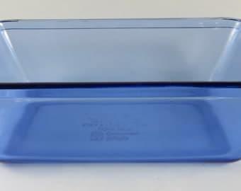 Anchor Hocking Cobalt Blue Loaf Pan - 1 1/2 Qt Loaf Dish