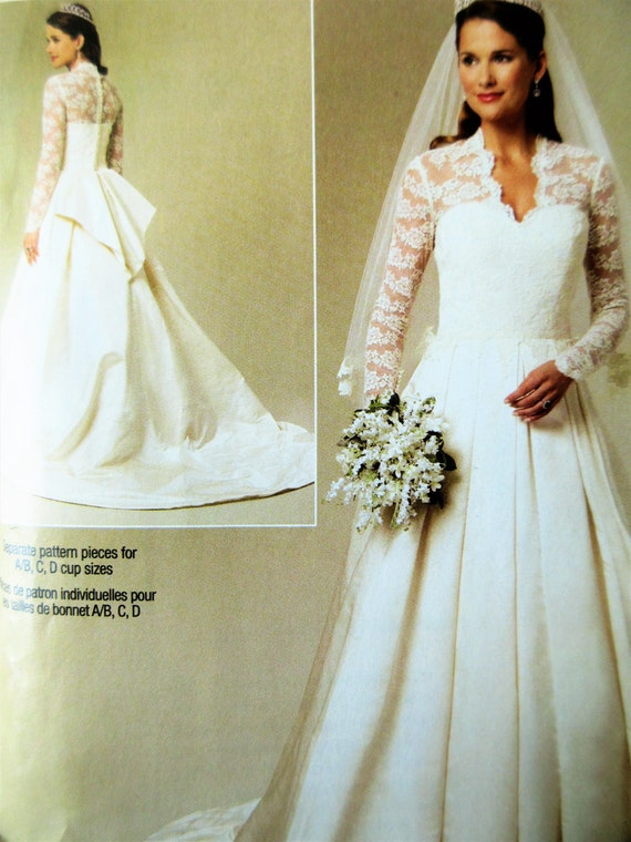 Wedding dress pattern butterick bp249 bridal by sewbettyanddot for Butterick wedding dress patterns
