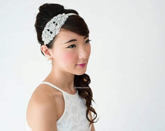 Wedding Rhinestone Headband ,Bridal Headband,Bridal Jewelry