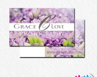 Pre - Made Business Card Design for your business/photography/spring
