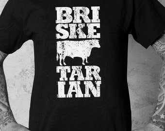 Brisketarian Men's Tee (Coal Black)