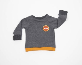 SALE 40% Sweater with emblem