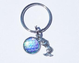 Mermaid Keychain, Mermaid Scale Keychain, Dragon Keychain, Mermaid Scales, Dragon Scales, Fish Scales, Im really a mermaid, Mermaid, Dragon