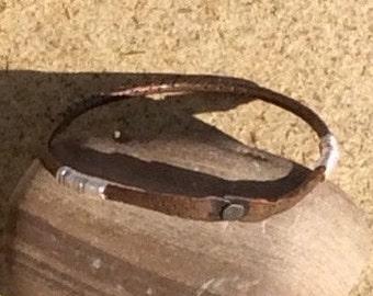 Sale-Copper bangles, copper bracelets, stacking bangles