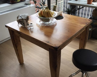 The Macy - Reclaimed Wood Cafe Table