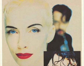 Eurythmics Band Portrait Rare Vintage Poster