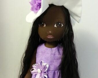 Cloth Doll, Art Doll, Soft Sculpture Doll, OOAK Doll