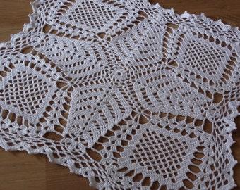 Hand made Crochet doily  , lace doily