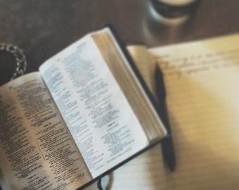 Custom Bible Rebind