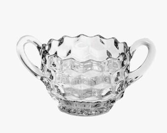 Fostoria American Open Sugar Bowl