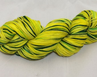 Yellow and Blue Make Green Half Skeins