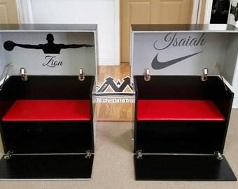 christian louboutin life size shoe box