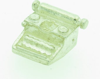 A Silver typewriter charm (SKU417)