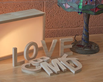 Wooden Letters : Plywood Letters