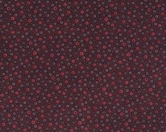 Cotton fabric by Denyse Schmidt for Free Spirit Fabrics Flea Market Fancy PWDS019.Red