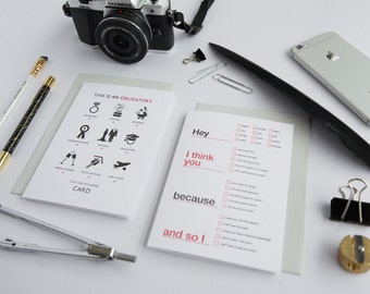 LIMITED EDITION! Tympan Ink x PPG Tick Yourself Letterpress Card