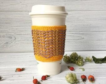 Crochet Cup Cozy, Tea Cozy, Coffee Cozy, Coffee Cup Sleeve, Tea Cup Sleeve, Tea Cozy, Coffee Cozy, Organic Coffee Cozy