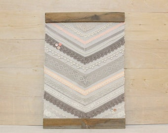 Lace Chevron Banner
