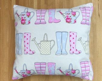 Wellington Boot Cushion Cover
