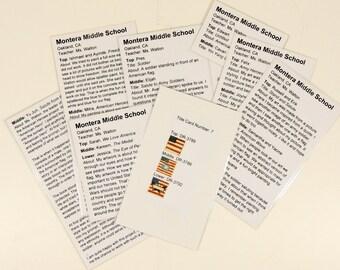 Souvenir: HARRIS Corporation (CA) Title-Cards