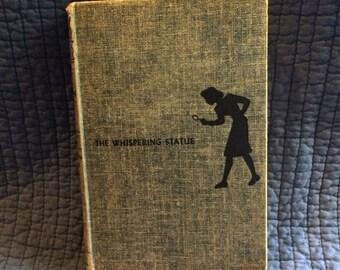 1937 Nancy Drew The Whispering Statue/First Edition Nancy Drew