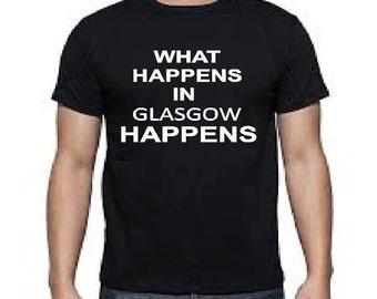 Glasgow funny t shirt
