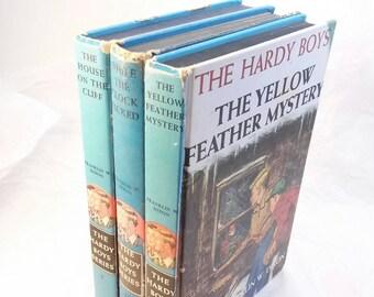 Vintage Hardy Boys books lot of 3