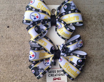 Pittsburg Steelers Set of two bows