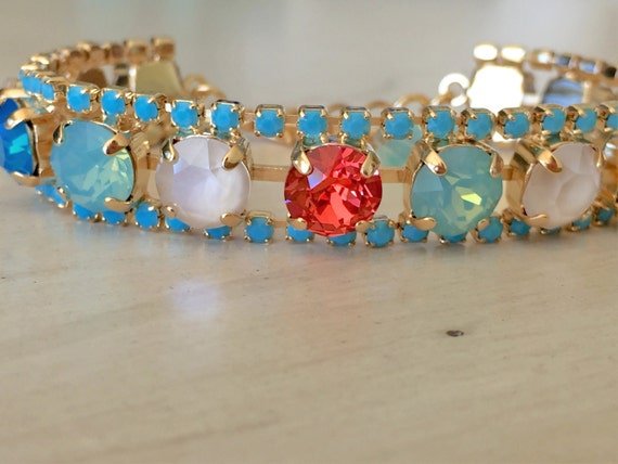 South Beach Crystal Bracelet