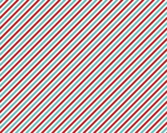 1 Yard Pixie Noel by Tasha Noel for Riley Blake Designs- 5256- Red