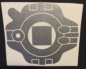 Digimon Digivice Decal