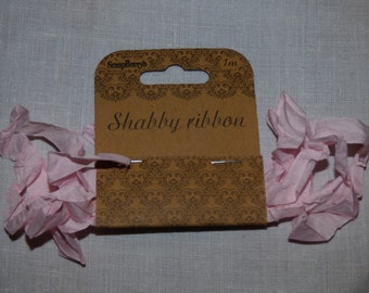 Shabby Ribbon, Light Pink of Scrpaberry