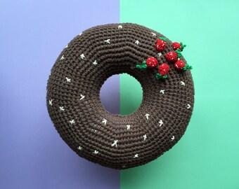 Cocobewey crochet donut cushion